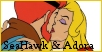 Adora and SeaHawk           (She-Ra)