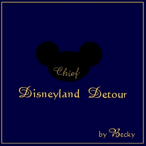 Disneyland Detour by Becky (graphic by Robyn)